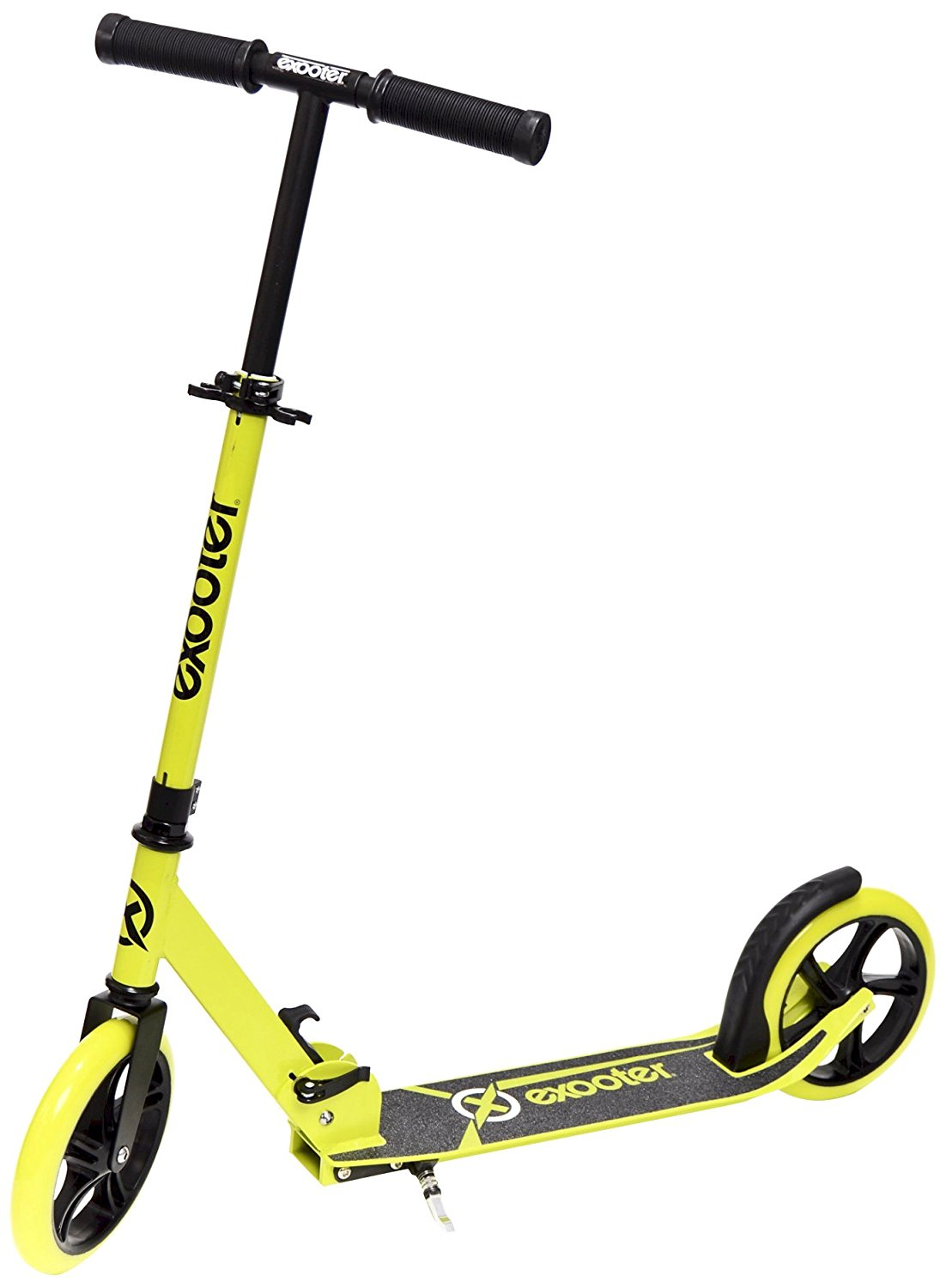 EXOOTER M1450BG Teen Kick Scooter with 200mm Wheels in Vibrant Green