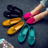 Factory Sale Women Flats Shoes 2019 Loafers Candy Color Slip on Flat Shoes Ballet Flats Comfortable Ladies Shoes
