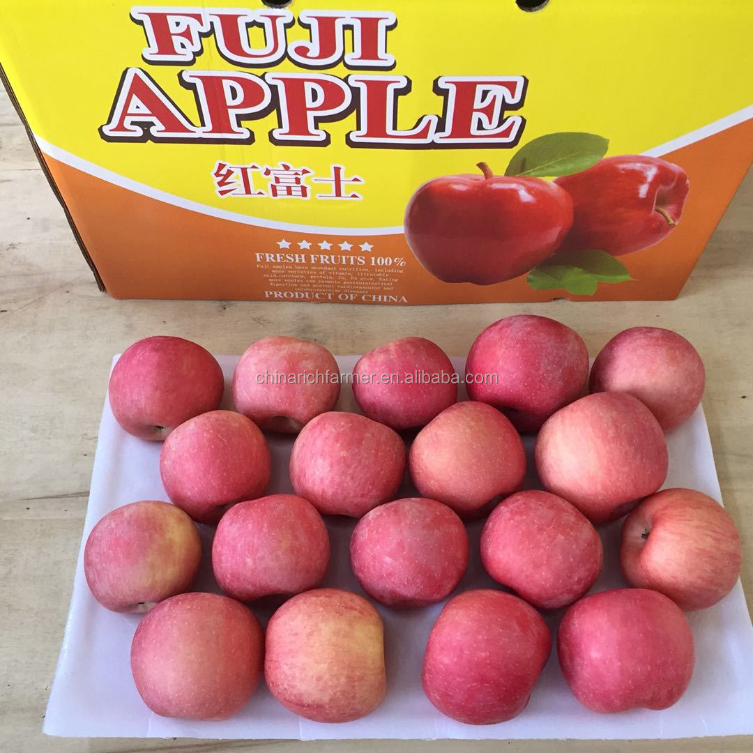 China Sweet Fruit Red Fuji Apple wholesale prices