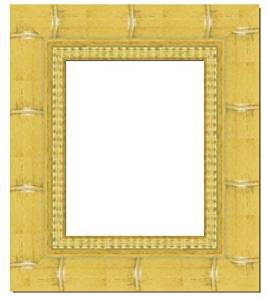 20x30 - 20 x 30 Natural Bamboo Solid Wood Frame with UV Framer's Acrylic & Foam Board Backing - Great For a Photo, Poster, Painting, Document, or Mirror