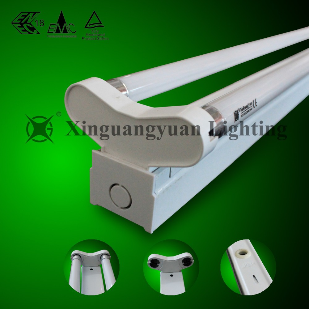 T5 Fluorescent Lamp Double Tubes Light Fixtures with Reflector