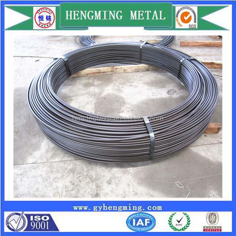Direct China factory 60Si2Mn oil quenched tempered spring steel wire for auto coil spring