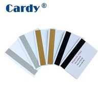 125KHz blank rfid magnetic stripe card with TK4100 chip