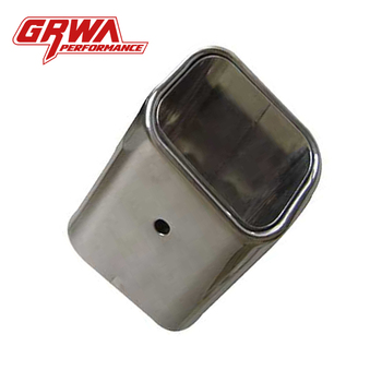 Grwa Modified Car Exhaust 2 Stainless Steel Exhaust Tips