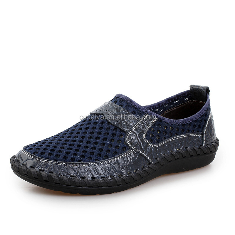 2017 European style soft sole breathable men casual <strong>shoes</strong>