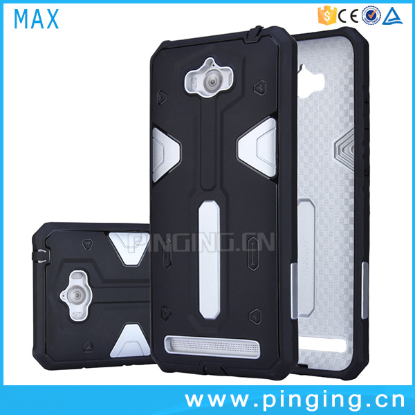 2016 New Design hybrid rugged Shockproof hard case cover skin for Asus Zenfone <strong>Max</strong>