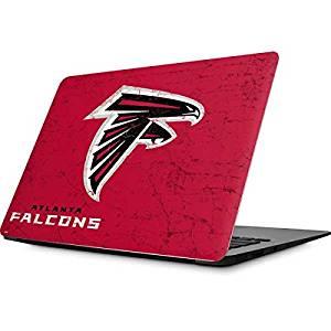 NFL Atlanta Falcons MacBook Air 13.3 (2010/2013) Skin - Atlanta Falcons - Alternate Distressed Vinyl Decal Skin For Your MacBook Air 13.3 (2010/2013)