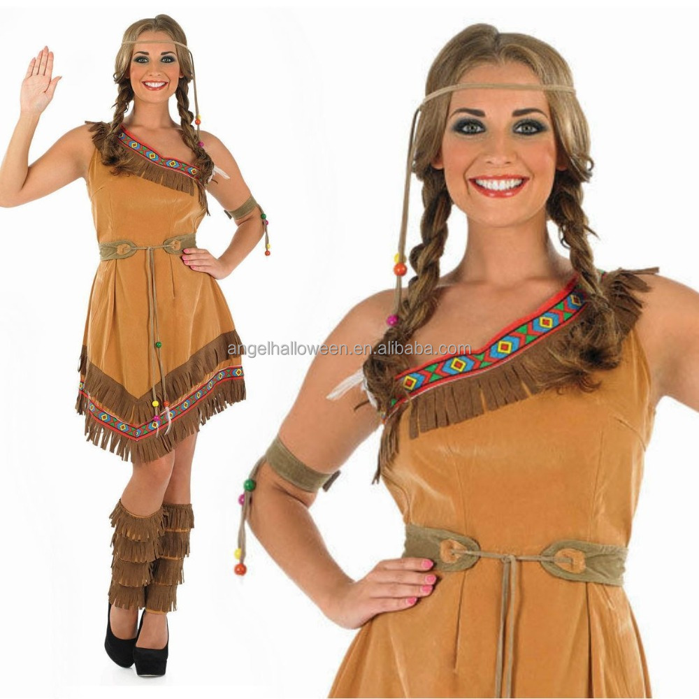 Red Indian Woman Squaw Costume Pocahontas Ladies Womens Fancy Dress Outfit Agc1579 - Buy Pocahontas CostumePocahontas Costume For WomenFancy Dress ...  sc 1 st  Alibaba & Red Indian Woman Squaw Costume Pocahontas Ladies Womens Fancy Dress ...