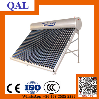 300 l eco friendly portable hot selling heat pipes solar for Eco friendly heaters
