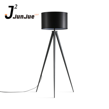 Arts black modern led tripod floor lamp for living room and bedroom