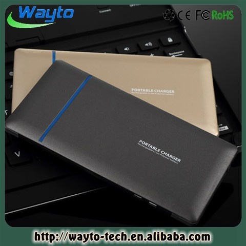 Cool Design Backup Power Credit Size Power Bank 5000Mah