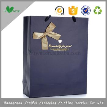 whole custom logo art paper bag bowknot design young girl whole custom logo art paper bag bowknot design young girl cheap paper shopping bag