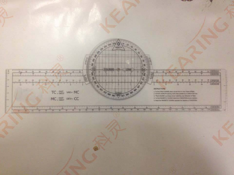 Chinese Manufacture Customized Pvc Aviation Square Protractor ...