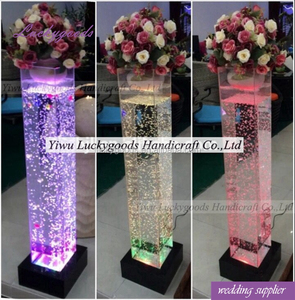 LG20180303-2 wedding engagement decoration flower clear acrylic display stand
