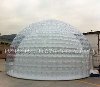 Durable Big Inflatable Lawn Tent Transparent PVC Inflatable Bubble Tent / Inflatable Clear Dome /Inflatable & Durable Big Inflatable Lawn Tent Transparent Pvc Inflatable Bubble ...