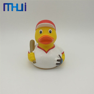 Child promotion gift baby Evade Glue squeeze water toy Duck