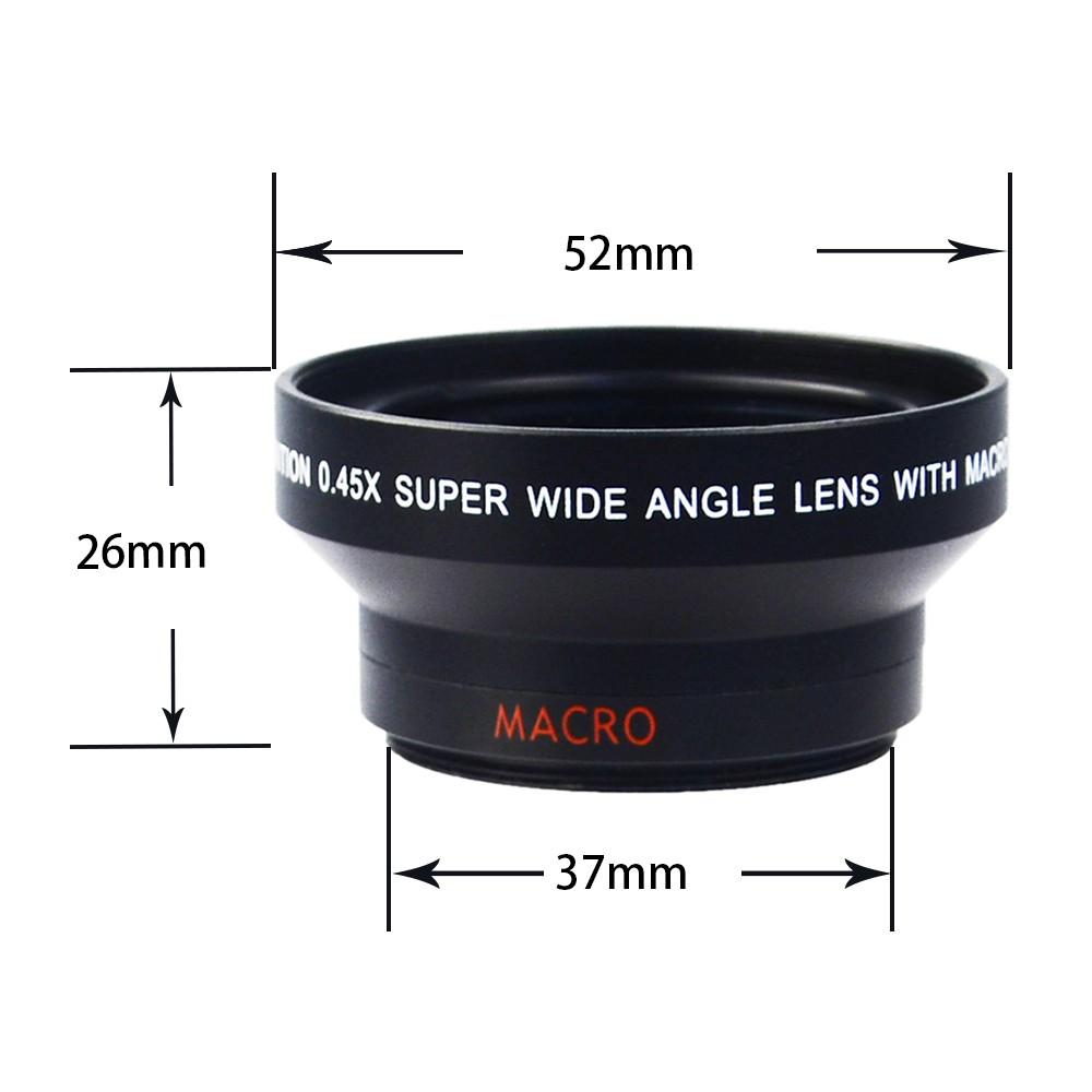 Phone Wide Angle Lens Kit Techo Universal Professional Hd