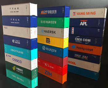 40 Fuss Container 1 87 Zug Modell Teile Architekturmodell Kits Fur
