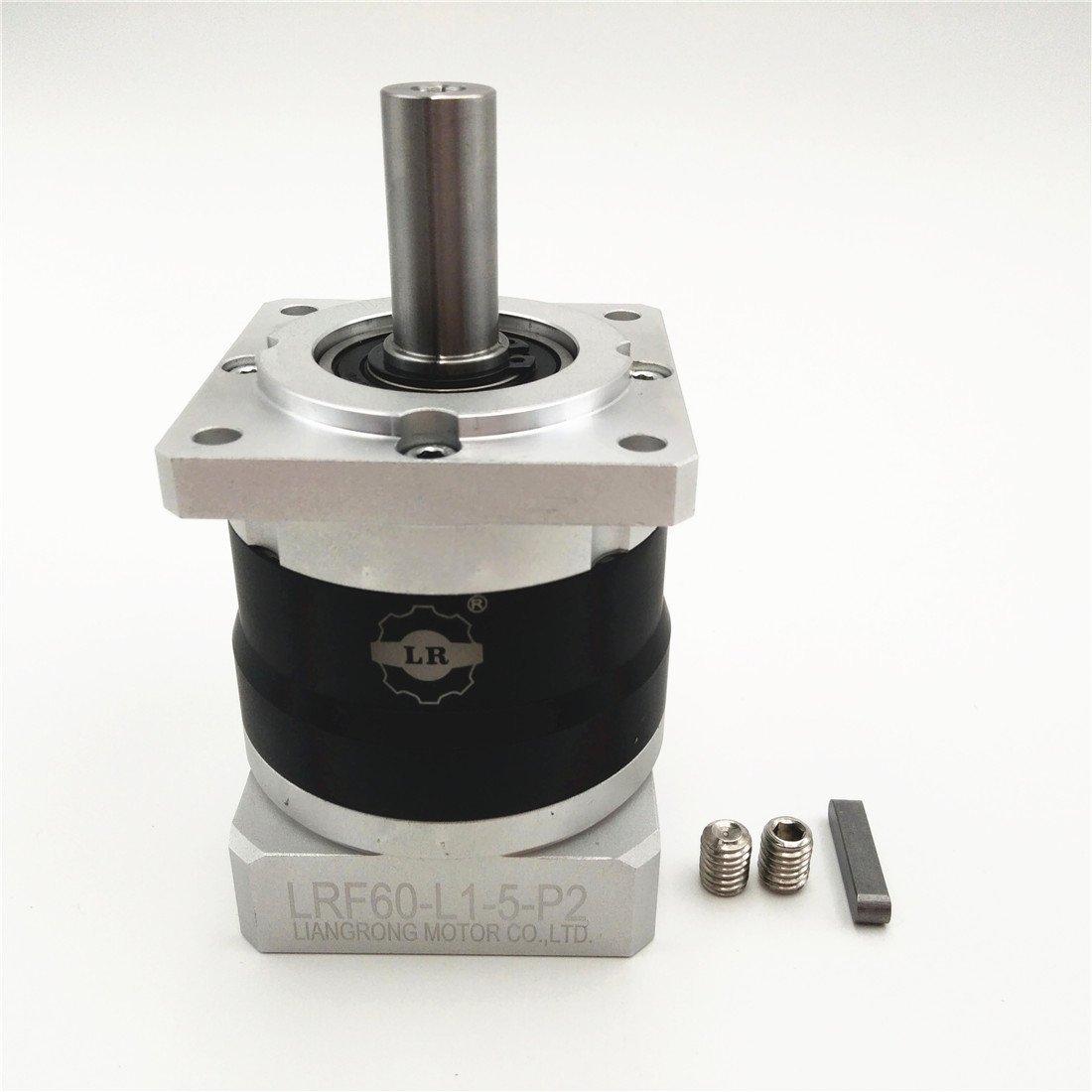 Planetary Gearbox Servo Motor Speed Reducer 60mm Ratio (Ratio 5:1, Backlash:<8 ARCMIN)