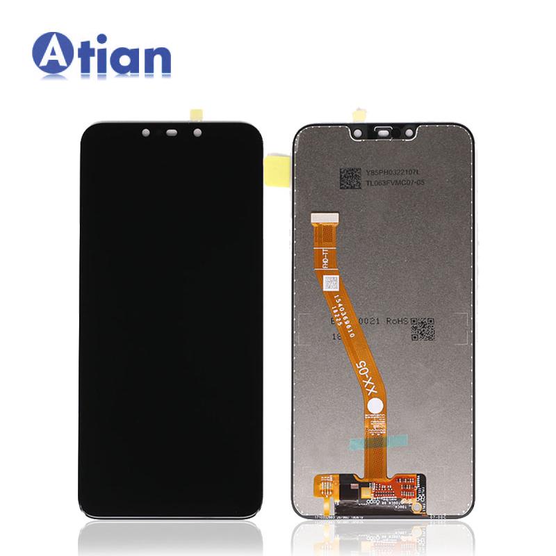 LCD untuk Huawei Nova 3i Display Rakitan Digitizer Touch Panel INE-LX1r INE-LX2 INE-LX2r untuk Huawei P Smart Plus LCD Touch layar