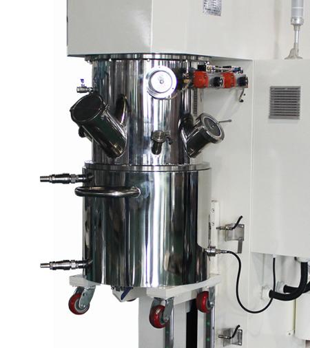 Планетарный смеситель 10 л простой в использовании вакуумный двойной смеситель планетарный для клеев