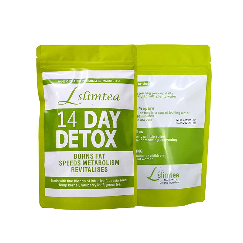Customized Flat Tummy Slimming Tea Detox Fat Burner Herbal Tea - 4uTea | 4uTea.com