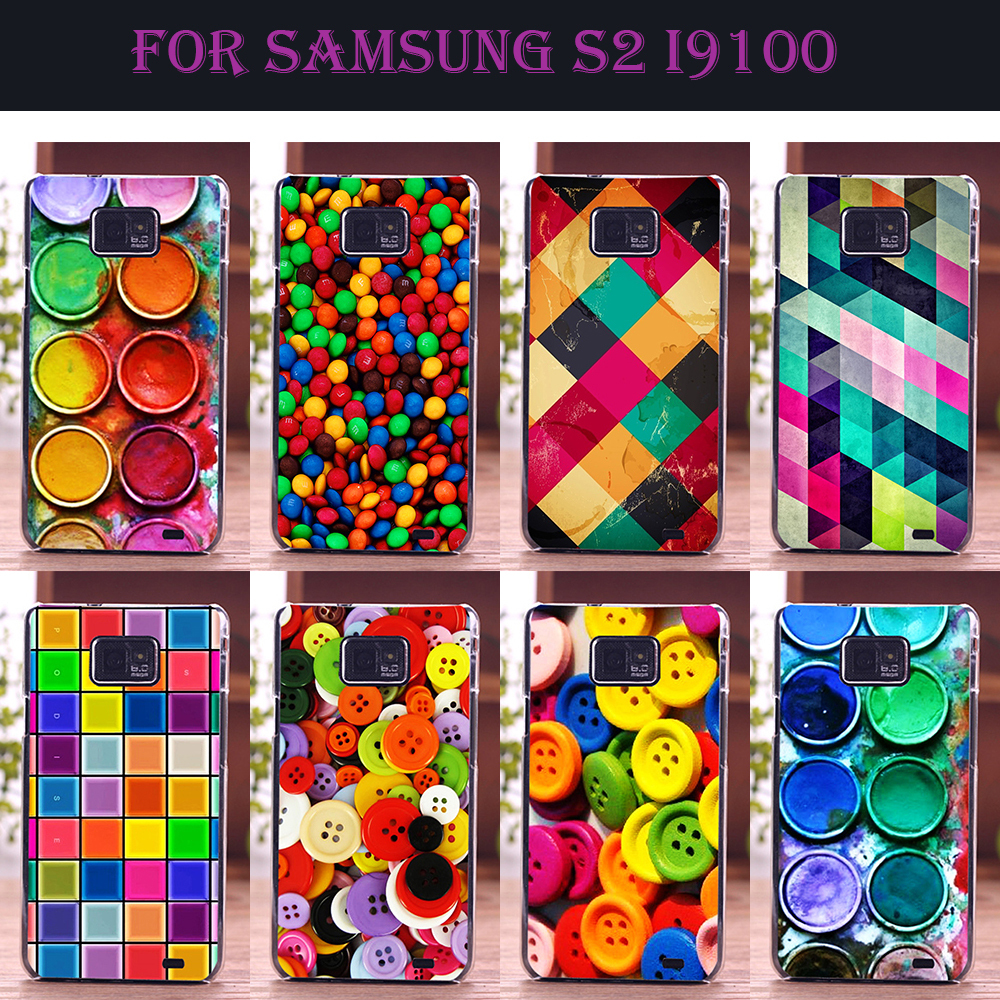 Mobile Phone Case For Samsung Galaxy S2 Diy Color Paint
