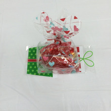 custom pp / opp / cpp decorative plastic candy cello bags for Christmas / Halloween / Party