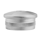 Press Tank Domed 304 316 Round Thread Stainless Steel Tube Pipe End Cap