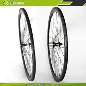 cheap high quality wheel 38mm wholesale carbon wheel disc brake clincher quality test material