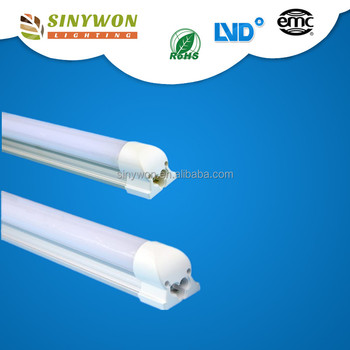Factory cheap price integrated style 1200mm 4ft 18w led tube lights fixture