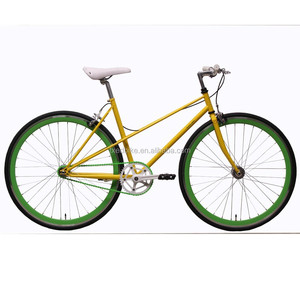 700C Colorful SingleSpeed Fixie Bike