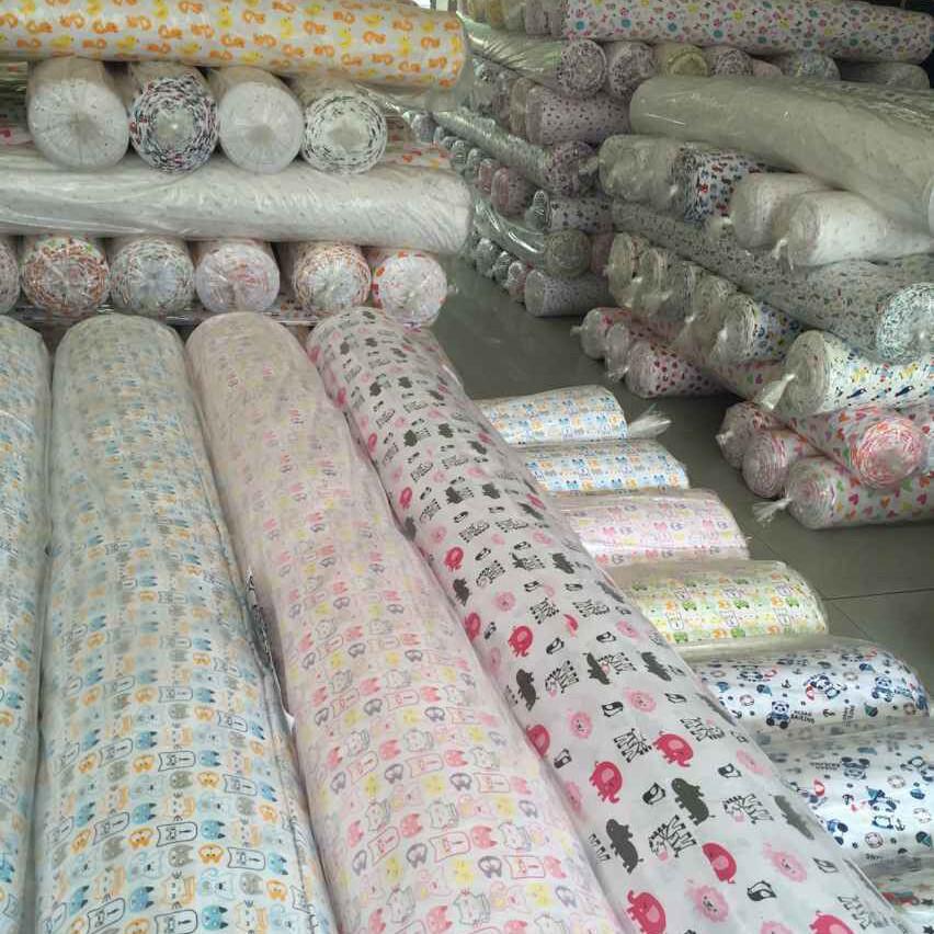 white cotton muslin fabric roll double gauze muslin fabric cotton printed muslin gauze fabric