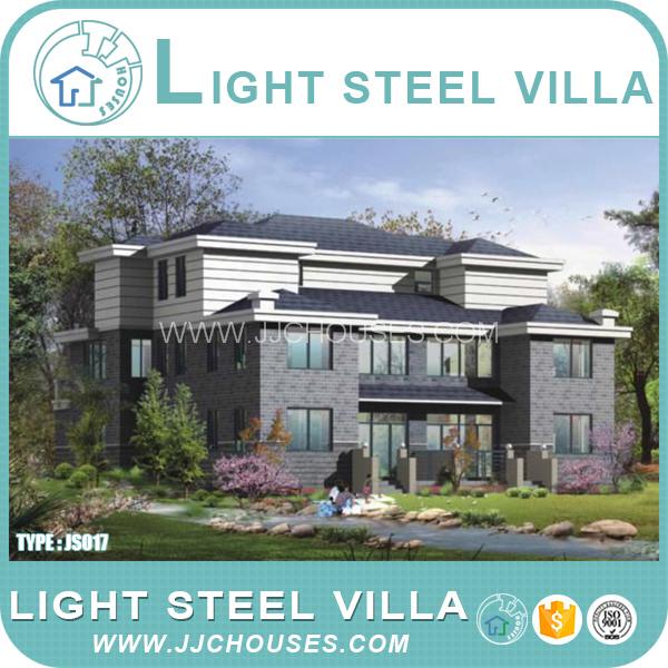 Insulation Modular Light Steel villa house,Living Sandwich villa house,Prefabricated pvc villa House