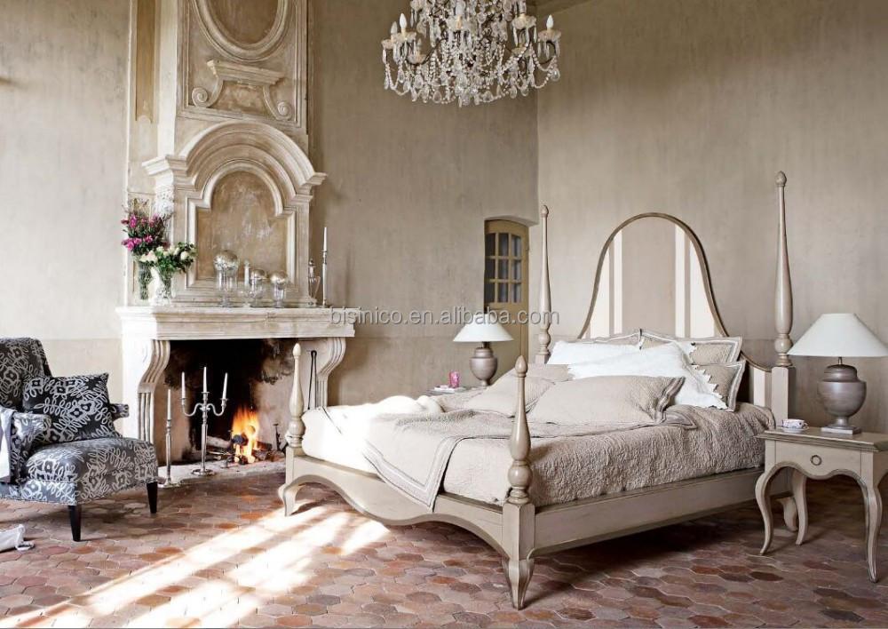 franais de la chambre coucher hortense lgant rtro baldaquin lit king size tradition - Chambre A Coucher Lit King Size
