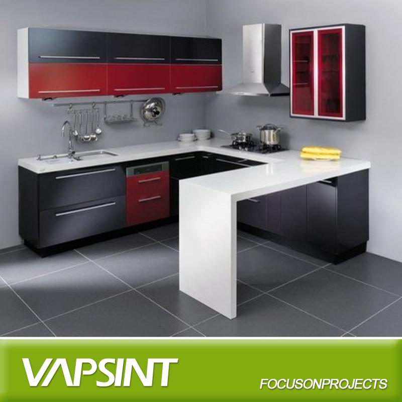 Prefab kleine keuken design kast-keuken kasten-product-ID ...