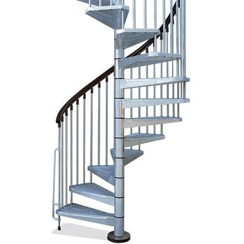 Inexpensive Iron Stair Outdoor Spiral