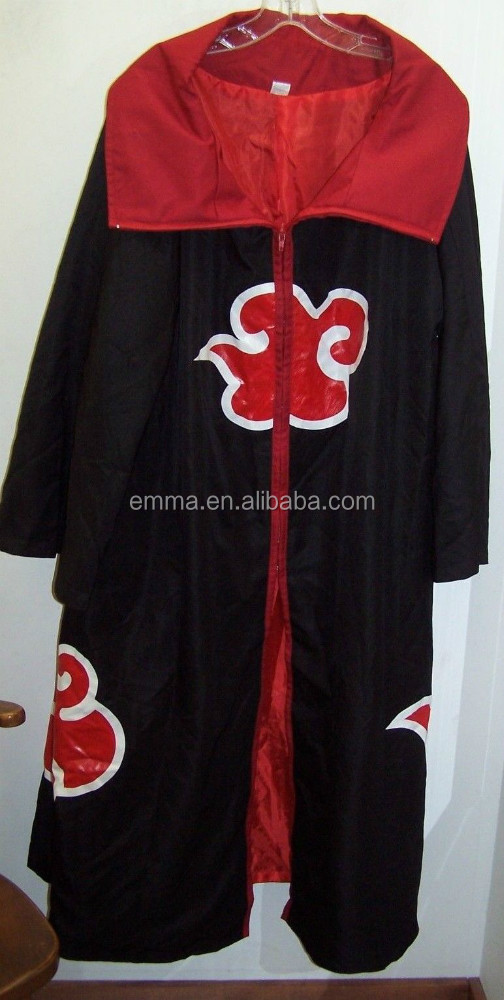 Hottest Akatsuki Cloak Ninja Uniform Adult Naruto Costume Sasuke Uchiha Cosplay For Party Bmg 4021 Buy Akatsuki Cloaknaruto Cosplaynaruto Costume