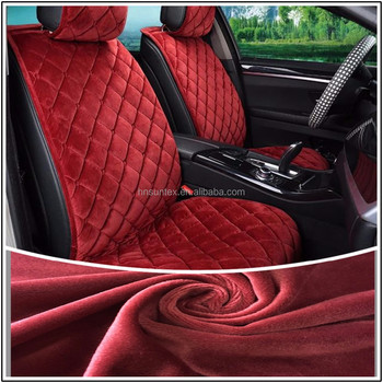 100 Polyester Tricot Warp Knitted Car Fabric Automotive Interior
