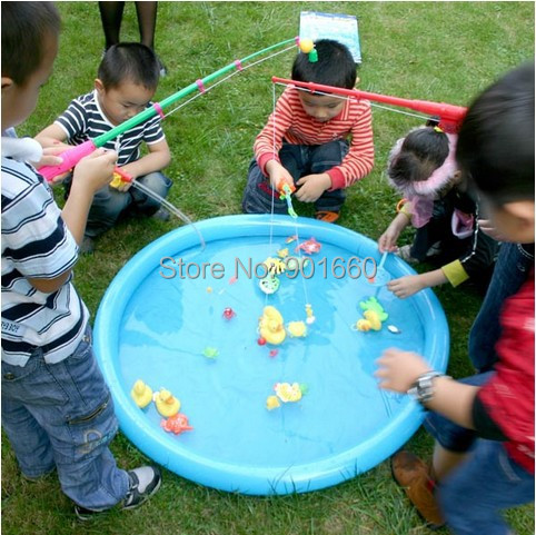Popular duck fishing game buy cheap duck fishing game lots for Koi pond game