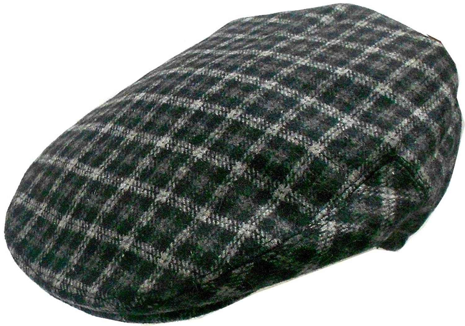 6349eec74d1 Get Quotations · Mens Wool Blend Plaids Ivy Golf Driver Hat Irish Hunting  Gatsby Flat Cap