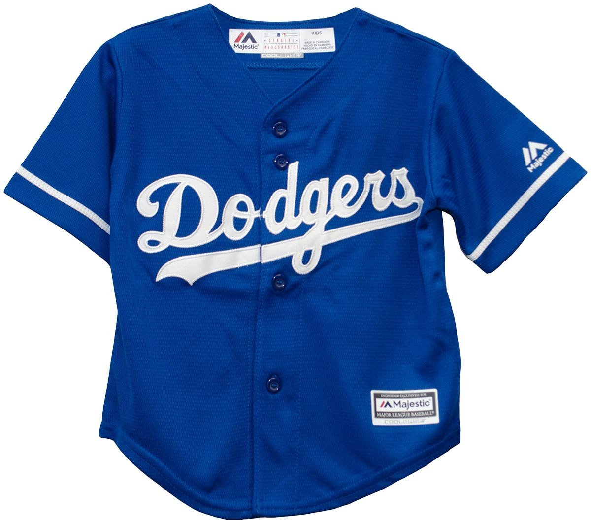 bba34b8f4 Get Quotations · Majestic Kids youth Royal Blue Los Angeles Dodgers Mlb  Baseball Jersey