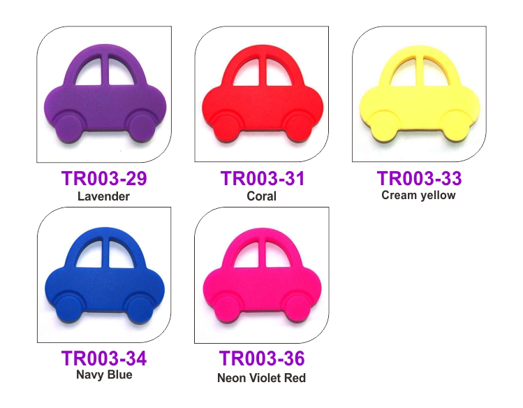 Silicone Baby Teething Toy & Baby Toy Car Teether