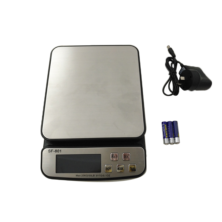 SF-801 Portable Stainless Steel Material Warehouse Weighing Digital Pet Scale