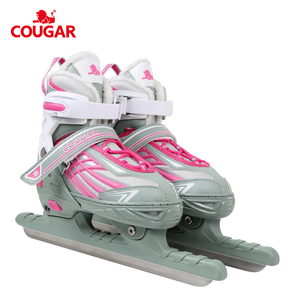 Cougar factory wholesale adjustable kids wholesales skating ice speed skates