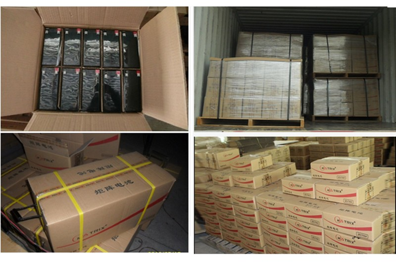 Matrix Brand Sealed Blei-Säure-Batterie AGM / GEL 12V120AH / UPS-Batterie, wiederaufladbare Batterie, Solar-Inverter-Batterie