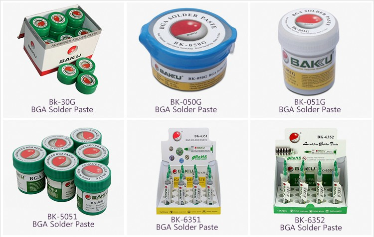 BAKU 5051 Mechanic Tin Solde paste led welding for screen printer