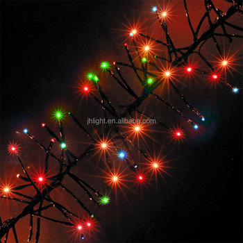 720480288 multi color color changing chasing outdoor cluster led christmas lights waterproof