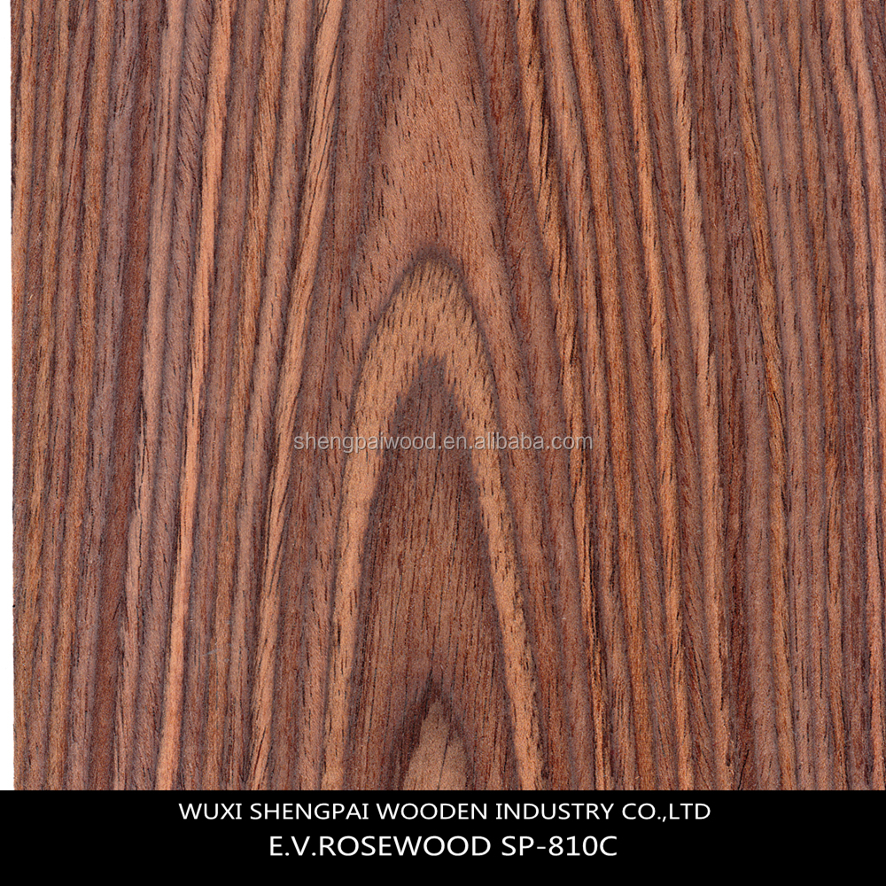 sliced cut paper thin rosewood timber recon mdf face wood veneer/walnut veneer md for decorative furniture hotel door face skins