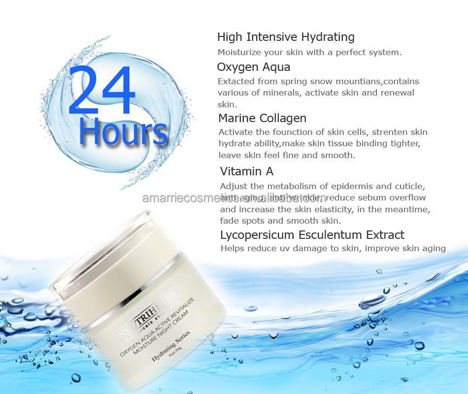 Chinese Herb Ingredients Restore Oxygen Aqua Active Deeply ...